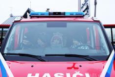 Slavnostní předání dopravního automobilu JSDHO Bratříkov